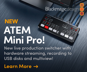 ATEM Mini | Blackmagic Design
